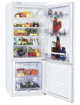 двухкамерный холодильник Zanussi ZRB 629 W