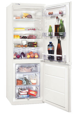 двухкамерный холодильник Zanussi ZRB 634 W