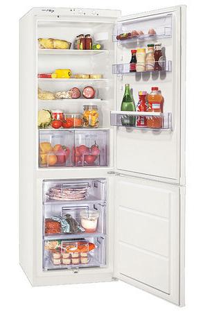 двухкамерный холодильник Zanussi ZRB 636 DW