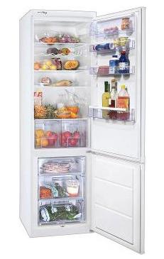 двухкамерный холодильник Zanussi ZRB 640 DW
