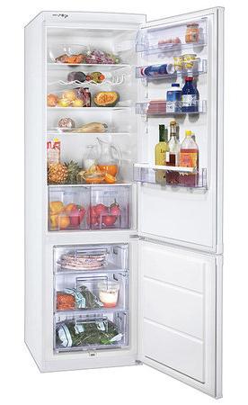 двухкамерный холодильник Zanussi ZRB 640 W
