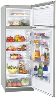 двухкамерный холодильник Zanussi ZRD332SO