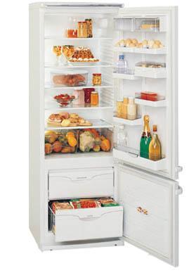 двухкамерный холодильник ATLANT МХМ 1701 - 02( 03, 08, 09)