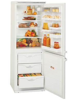 двухкамерный холодильник ATLANT МХМ 1709 - 00( 01, 06, 07)