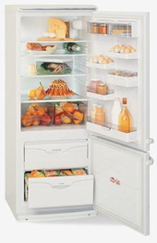 двухкамерный холодильник ATLANT МХМ 1803
