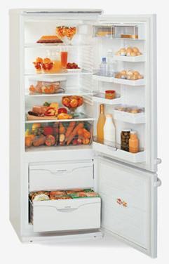 двухкамерный холодильник ATLANT МХМ 1816