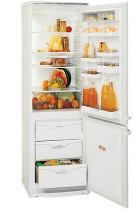двухкамерный холодильник ATLANT МХМ 1704 - 02 (03, 08, 09)