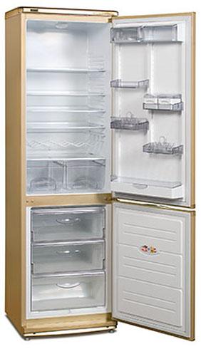 двухкамерный холодильник ATLANT ХМ 6024-40 GOLD EXСLUSIVE