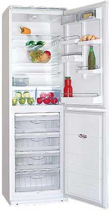 двухкамерный холодильник ATLANT ХМ 6025