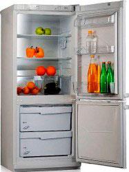 двухкамерный холодильник Мир 102-2 А серебро