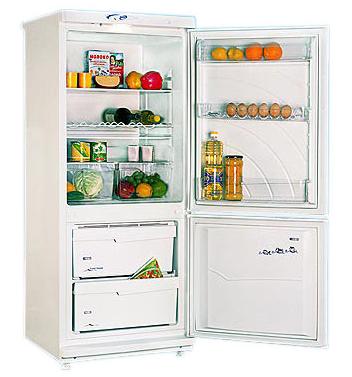 двухкамерный холодильник POZIS (Позис) 101-8 Серебро