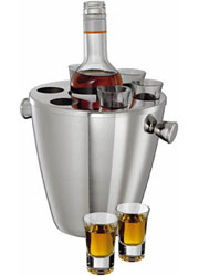 Набор для охлаждения напитков: 6 стаканчиков и термоведерко из...